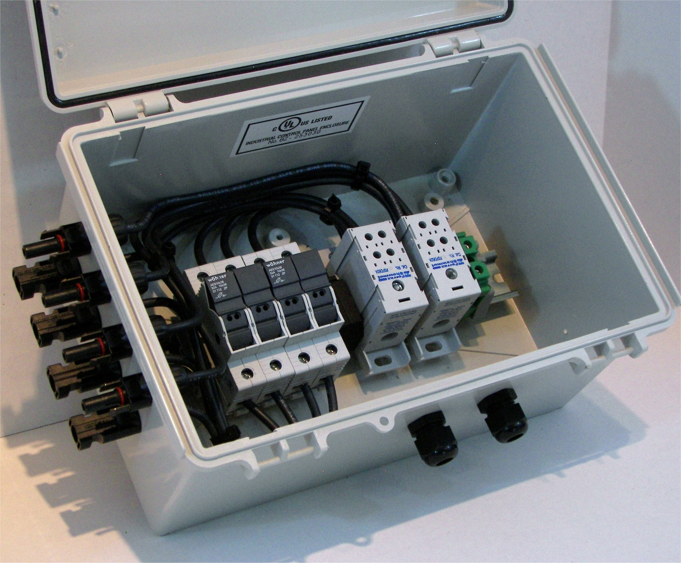 Imagine Instruments Com Solar Power Combiner Box Pv