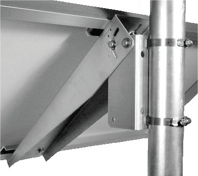 Imagine Instruments Com Solar Panel Side Of Pole Mount